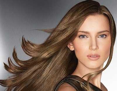 ترمیم مو با موهای بلند و پر حجم