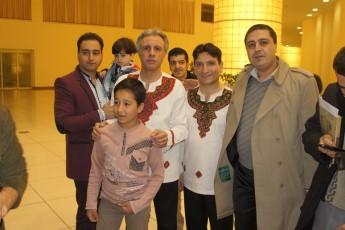 عکس دسته جمعی گروه نمایشی فیتیله و مدیریت موسسه