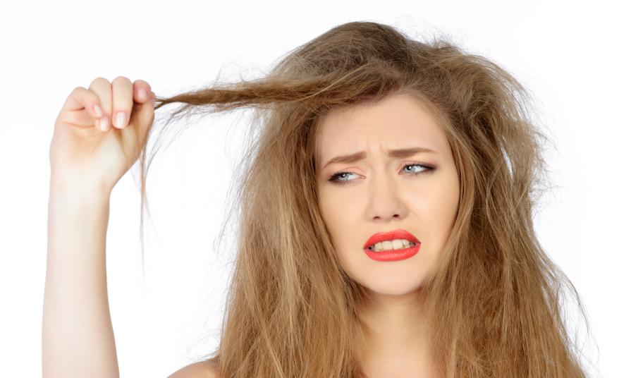 موهای خشک، آسیب دیده