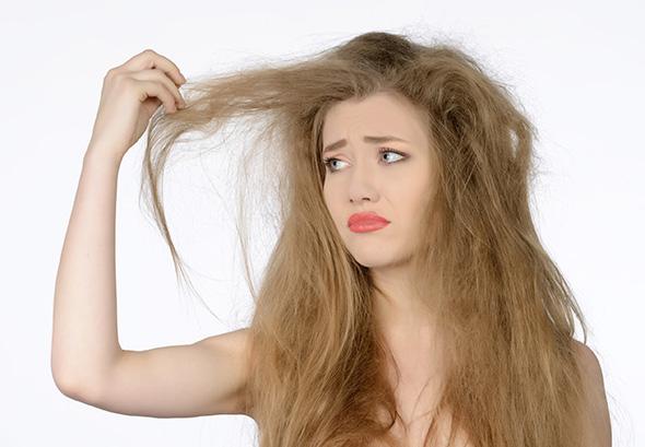 درمان های موهای خشک و آسیب دیده